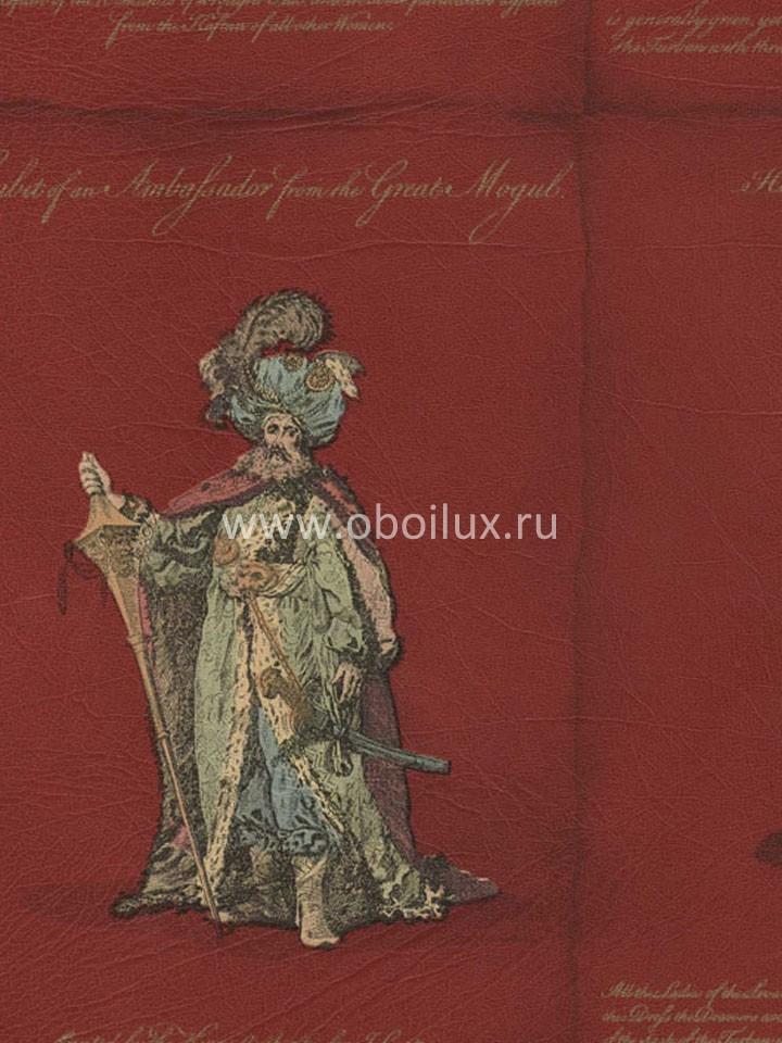 Канадские обои Blue Mountain,  коллекция Red, артикулBC1580148