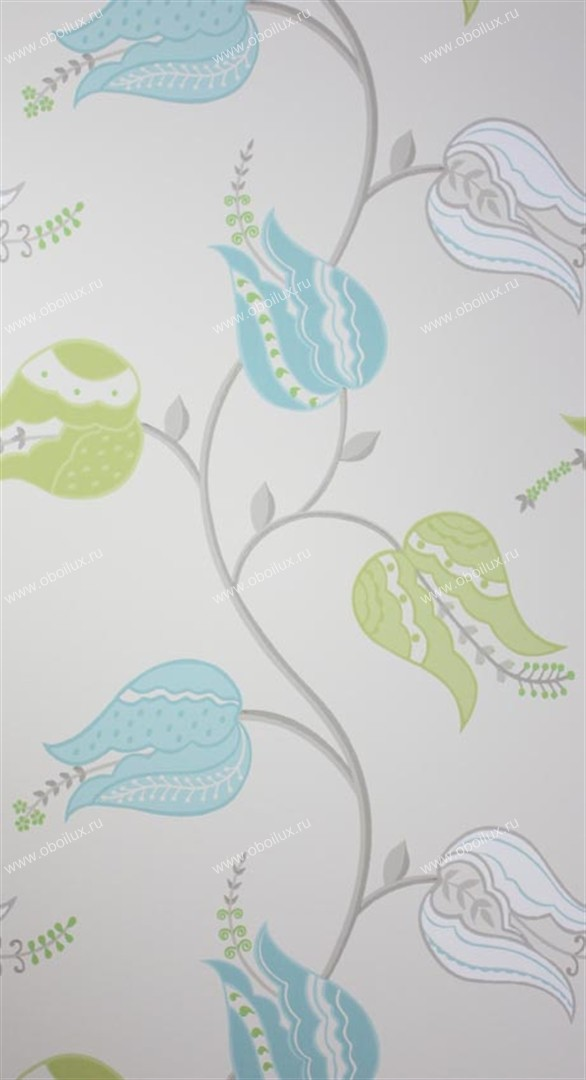Английские обои Osborne & Little,  коллекция Persian Garden, артикулW6490-04