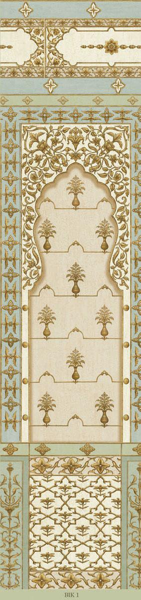 Английские обои Iksel,  коллекция Scenic & Architectural Wallpapers, артикулBikanerBaghBIK1
