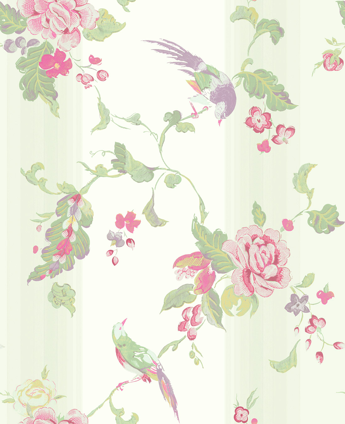 Американские обои Wallquest,  коллекция Watercolor Florals, артикулMF20001
