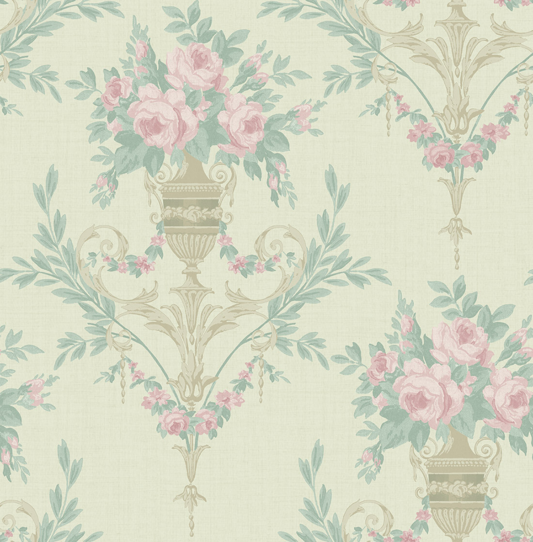 Американские обои Wallquest,  коллекция Watercolor Florals, артикул MF21002