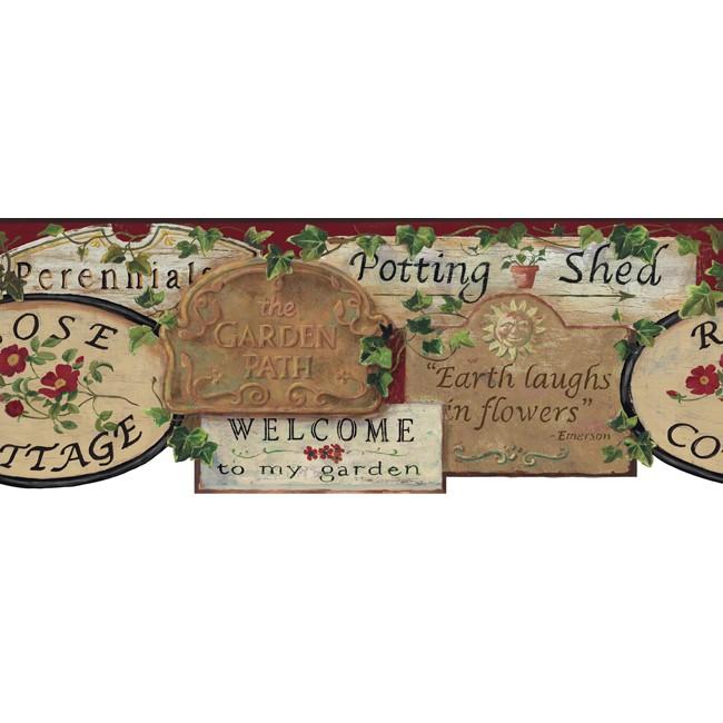 Американские обои York,  коллекция Hearts and Crafts III, артикулCC4527BDCB
