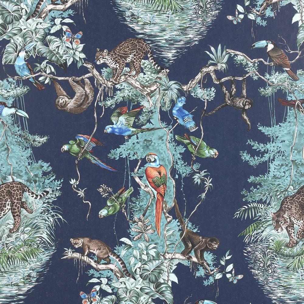 Французские обои Hermes,  коллекция La maison  Les papiers peints vol 2, артикул214013-M02