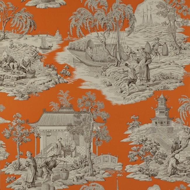 Французские обои Manuel Canovas,  коллекция Bellegarde, артикул03065-03