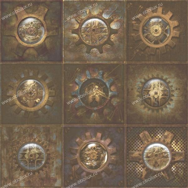 Канадские обои Aura,  коллекция Steampunk, артикулG56227