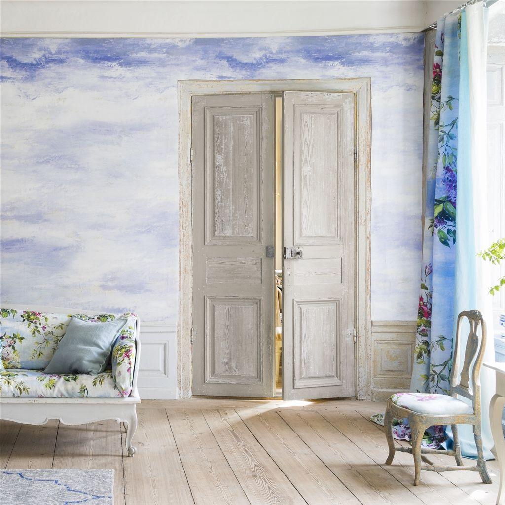 Английские обои Designers guild,  коллекция Caprifoglio Wallpapers, артикулPDG677-01