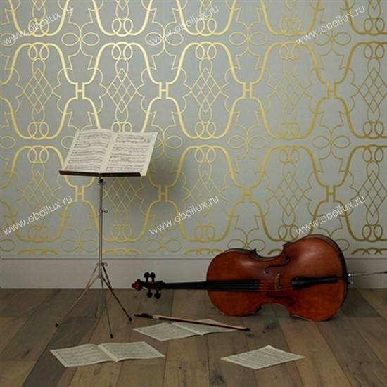 Английские обои Nina Campbell,  коллекция Wallpaper Album III, артикулNCW4014-01