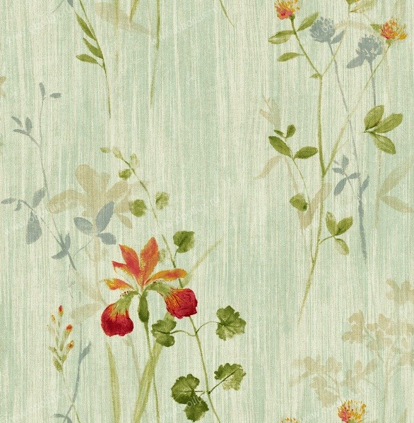Американские обои Seabrook,  коллекция Garden Diary, артикулCY11504