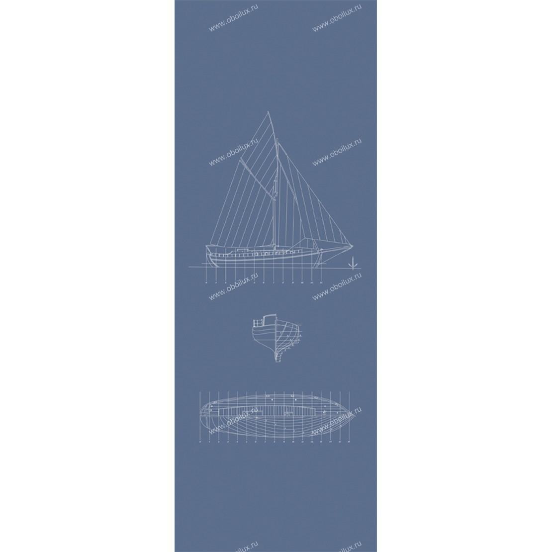 Французские обои Casadeco,  коллекция Fregate, артикулFRG20426510
