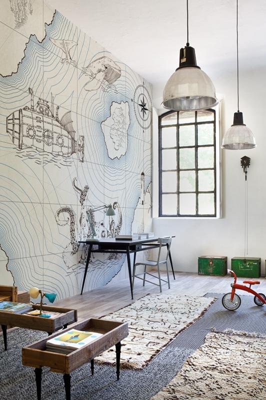 Итальянские обои Wall & deco,  коллекция Life 14, артикулWDJU1401-A