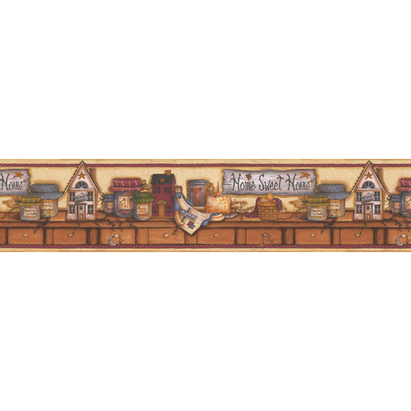 Американские обои Chesapeake,  коллекция Kitchen Bed & Bath IV, артикул414B06754