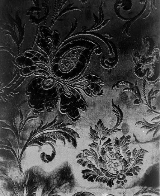 Французские обои Zuber,  коллекция Anastasia, артикул486-NOIR