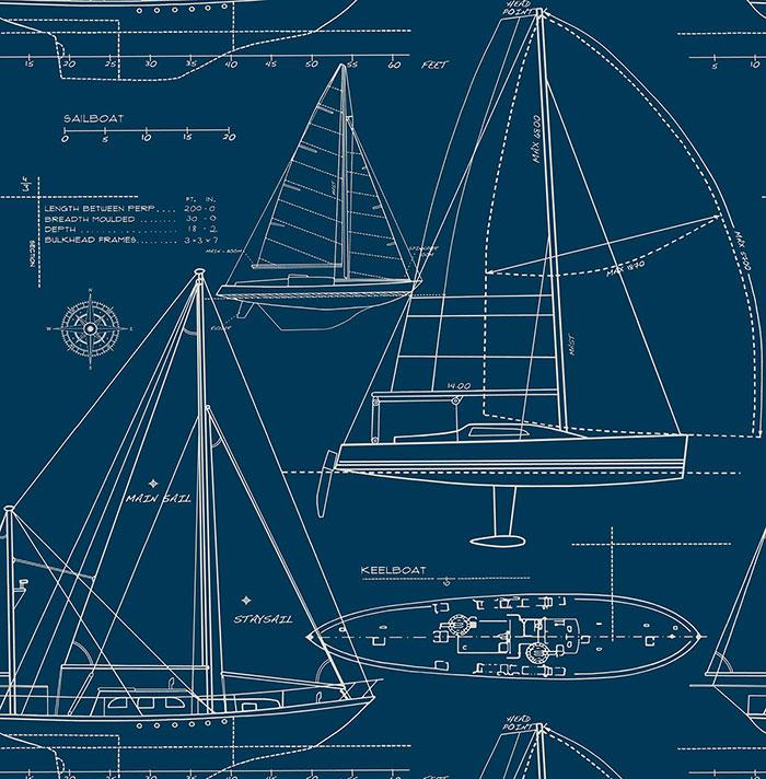 Немецкие обои KT-Exclusive,  коллекция Yacht Club, артикулYC61312
