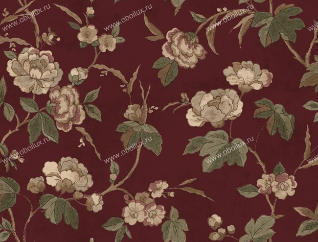 Американские обои York,  коллекция Remington Rose, артикулLN7606