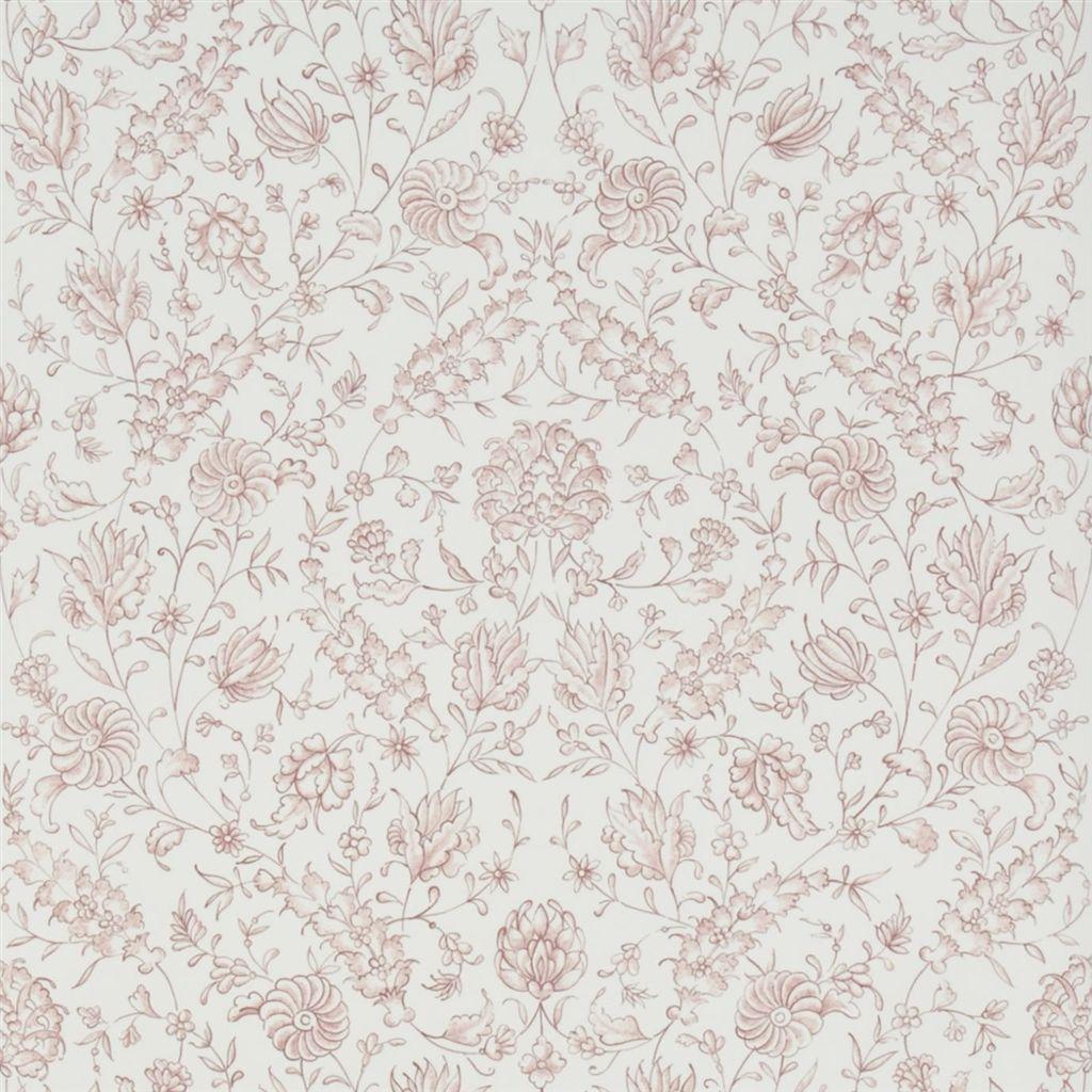 Английские обои Designers guild,  коллекция The Royal Collection - Rosa Chinensis, артикулPQ009/04