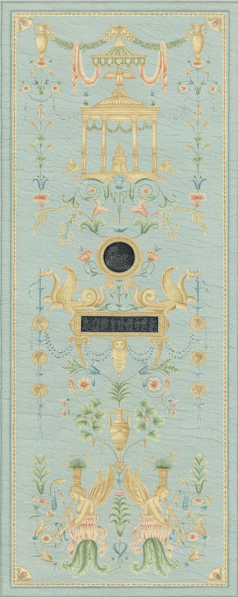 Английские обои Iksel,  коллекция Scenic & Architectural Wallpapers, артикулDirectoireAQS6