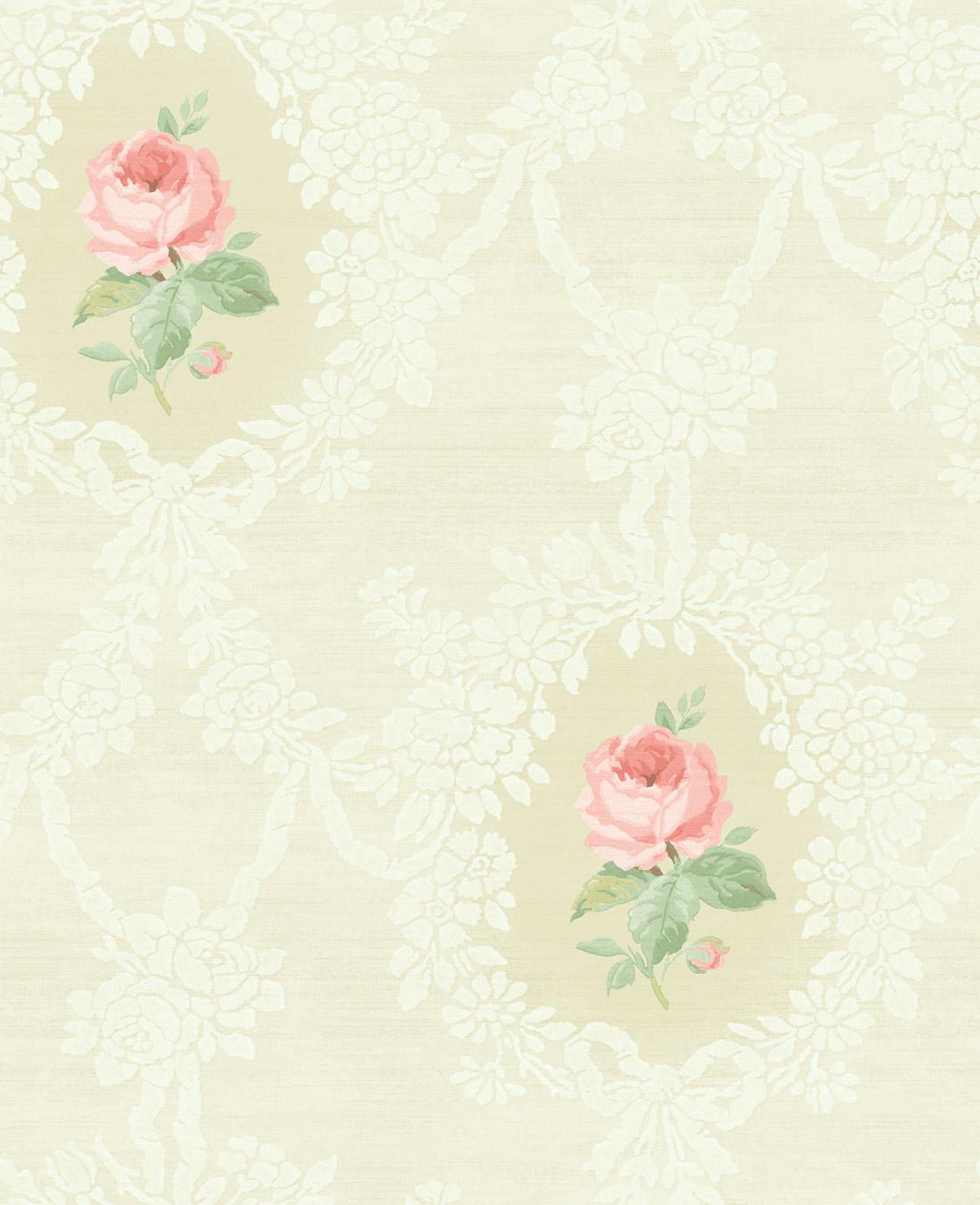 Американские обои Wallquest,  коллекция Watercolor Florals, артикулMF20201