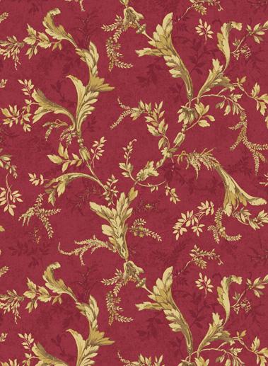 Американские обои Jaima Brown,  коллекция Chanticleer, артикулVersailles-Red