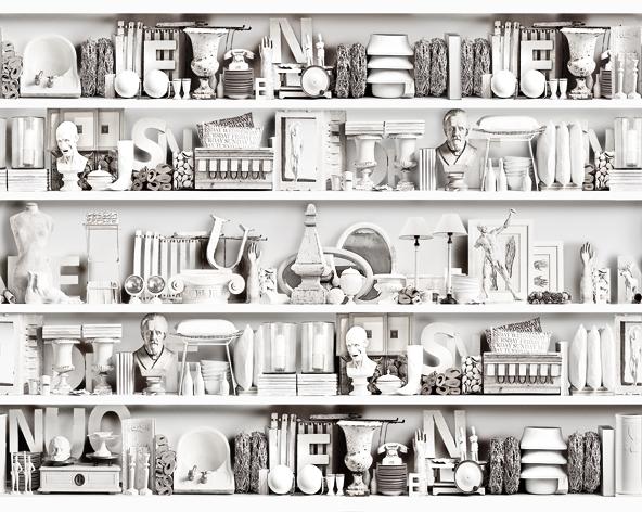 Итальянские обои Wall & deco,  коллекция Life 13, артикулWDMU1302