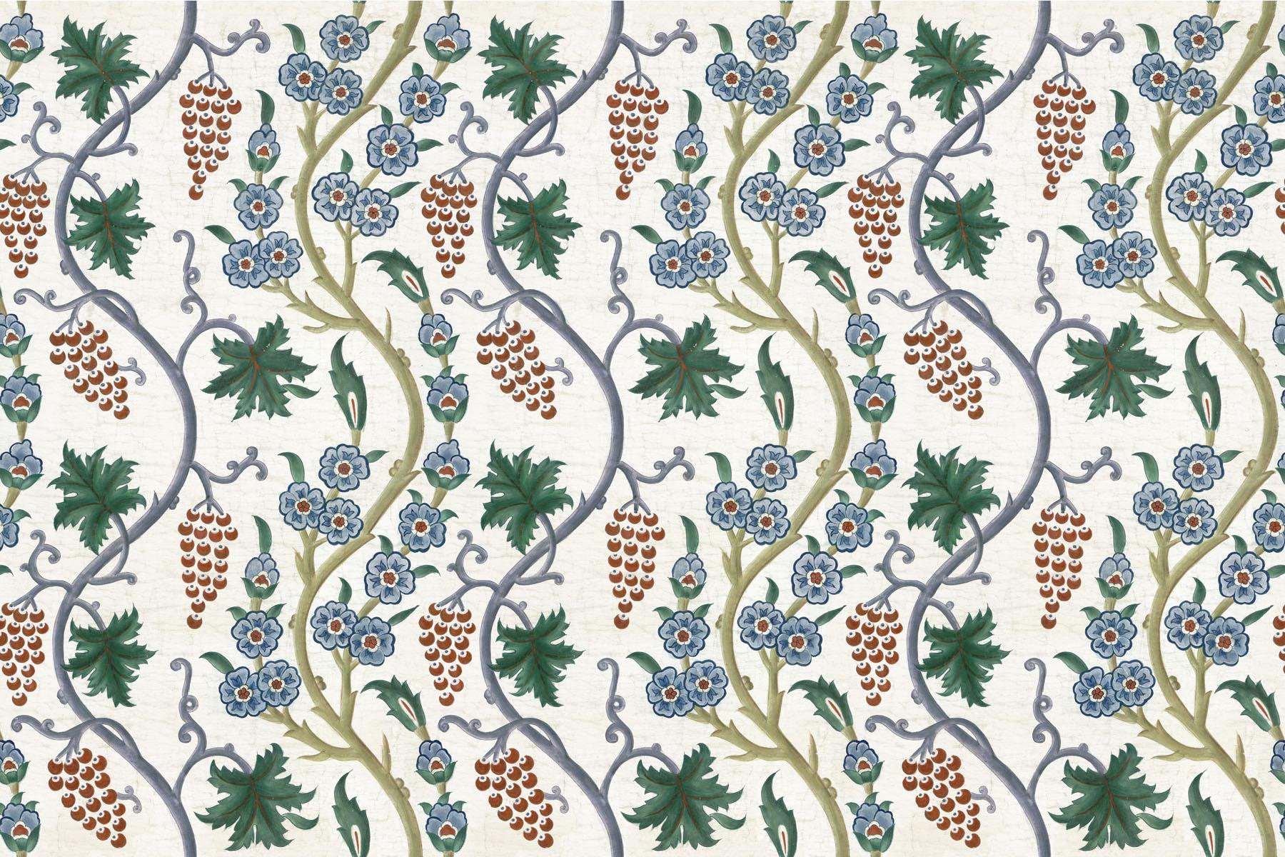 Английские обои Iksel,  коллекция Scenic & Architectural Wallpapers, артикулIznikCollectionSERAGLIO