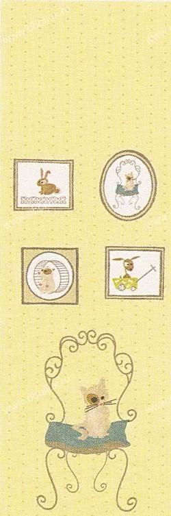 Французские обои Casadeco,  коллекция Louise et Tom, артикулLET_1317_71_19