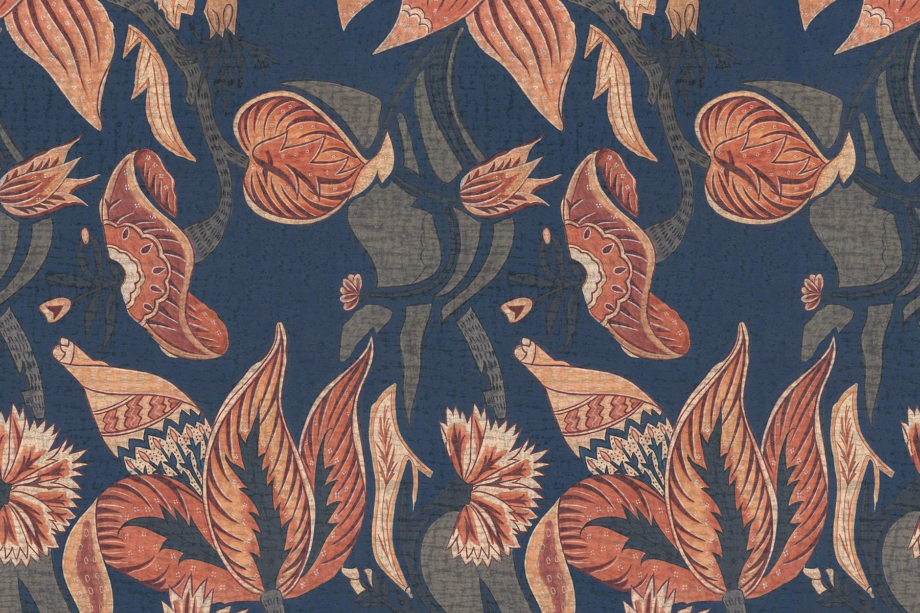 Английские обои Iksel,  коллекция Scenic & Architectural Wallpapers, артикулIndianCollectionCOROMANDELINDIENNE