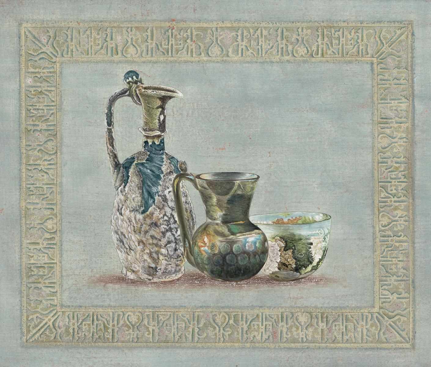 Английские обои Iksel,  коллекция Scenic & Architectural Wallpapers, артикулArchaeologyAY3