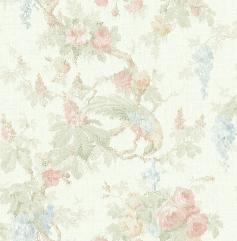 Американские обои Wallquest,  коллекция Watercolor Florals, артикулMF21104
