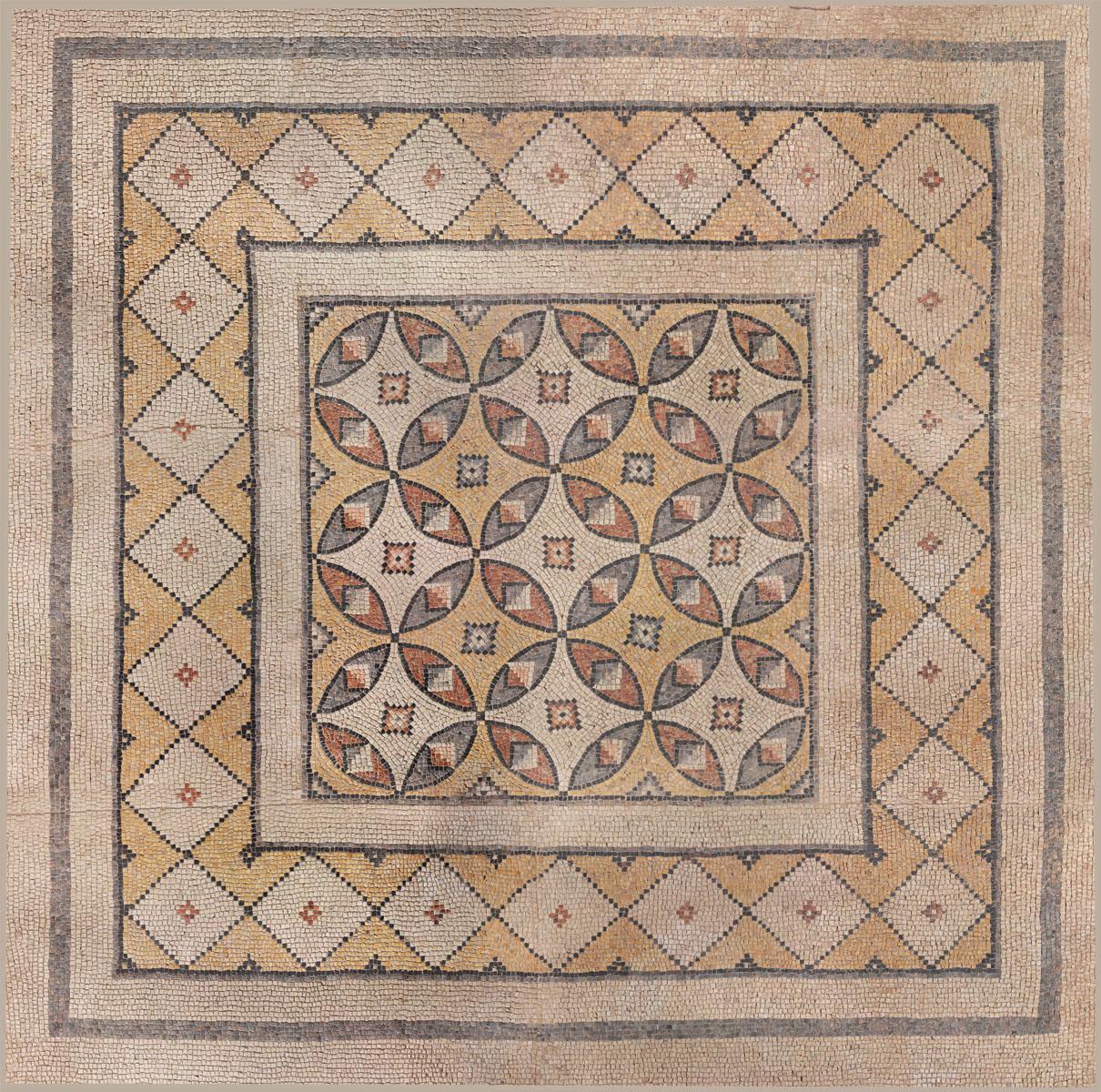 Английские обои Iksel,  коллекция Scenic & Architectural Wallpapers, артикулGeometricMosaicIII