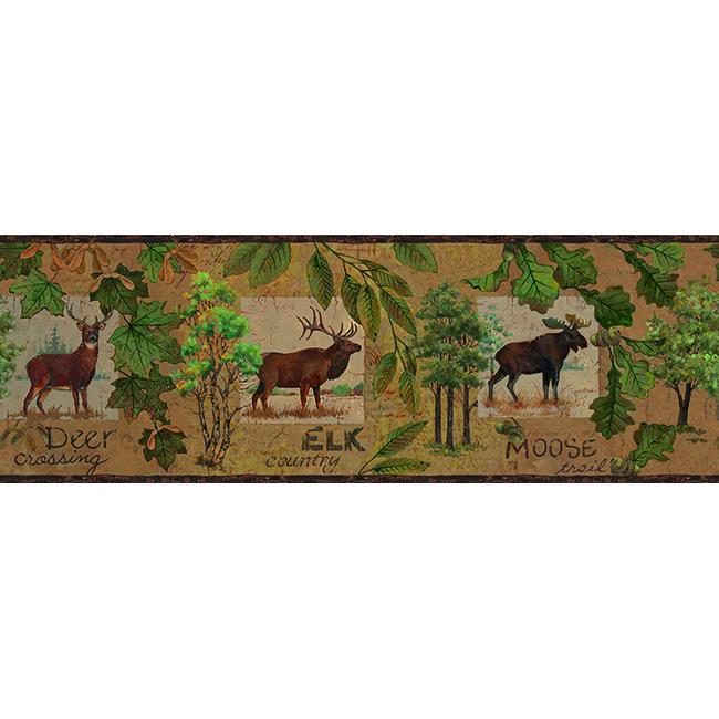 Американские обои York,  коллекция Lake Forest Lodge, артикулLM7920BD