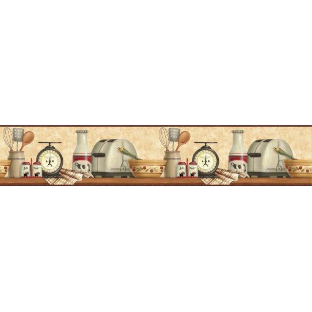Американские обои Chesapeake,  коллекция Kitchen & Bath Essentials, артикулKBE12553B