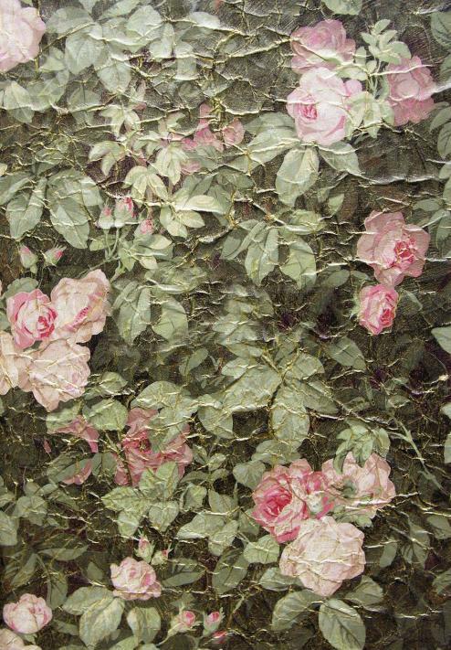 Французские обои Zuber,  коллекция Roses Anciennes, артикулROSES-ANCIENNES-P-11