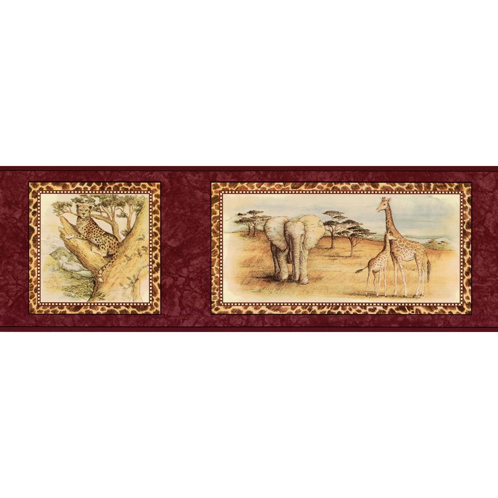 Канадские обои Blue Mountain,  коллекция Borders, артикулBC1582961