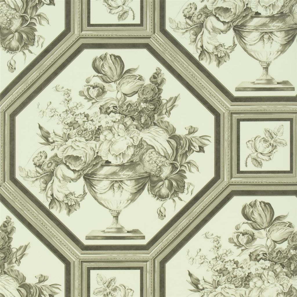 Английские обои Designers guild,  коллекция The Royal Collection - Rosa Chinensis, артикулPQ010/05