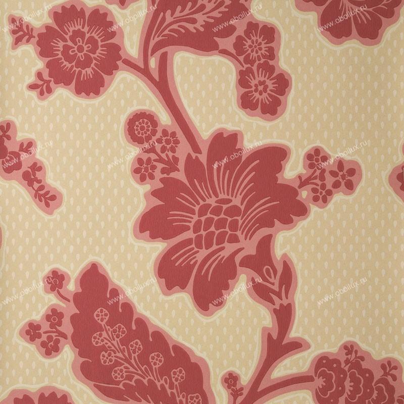 Английские обои Little Greene,  коллекция London Wallpapers, артикул0277SOBRONZ
