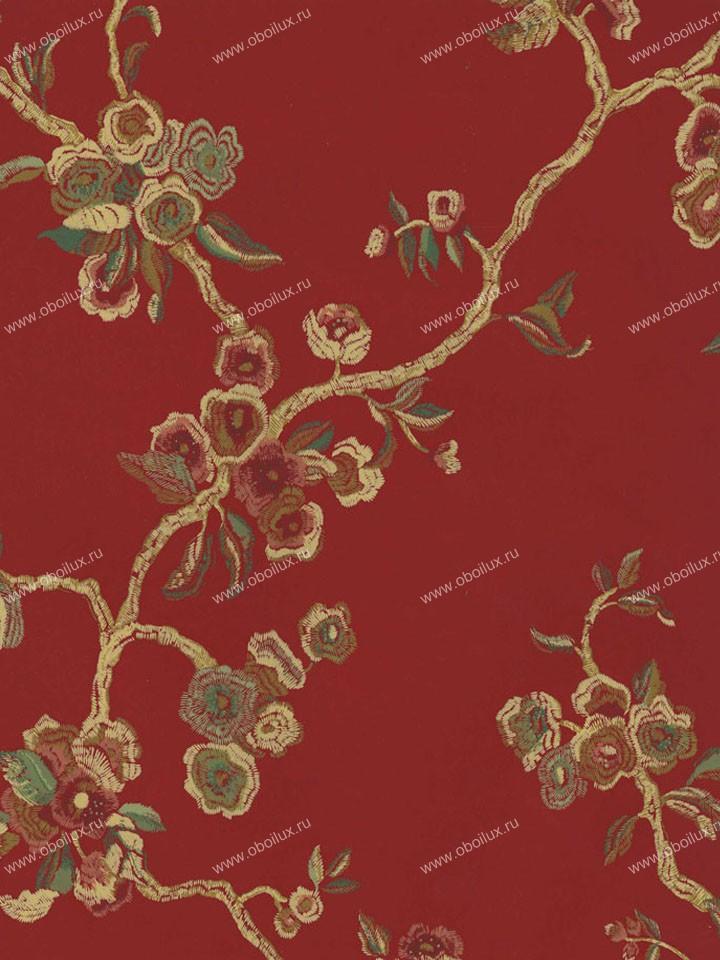 Американские обои Stroheim,  коллекция Color Gallery Cinnabar and Saffron, артикул6081E0330