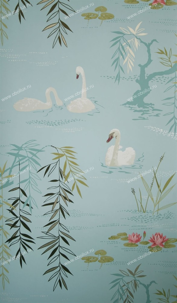 Английские обои Nina Campbell,  коллекция Wallpaper Album III, артикулNCW4020-06