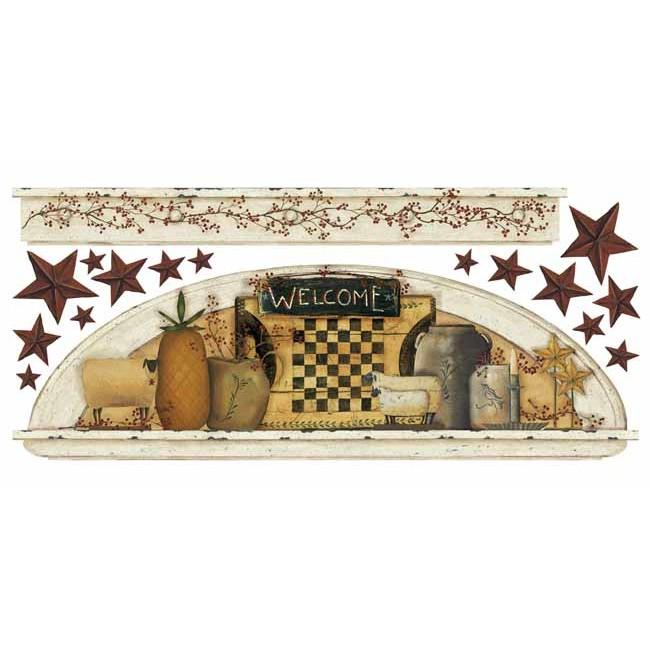 Американские обои York,  коллекция Hearts and Crafts III, артикулRMK1571GMCB