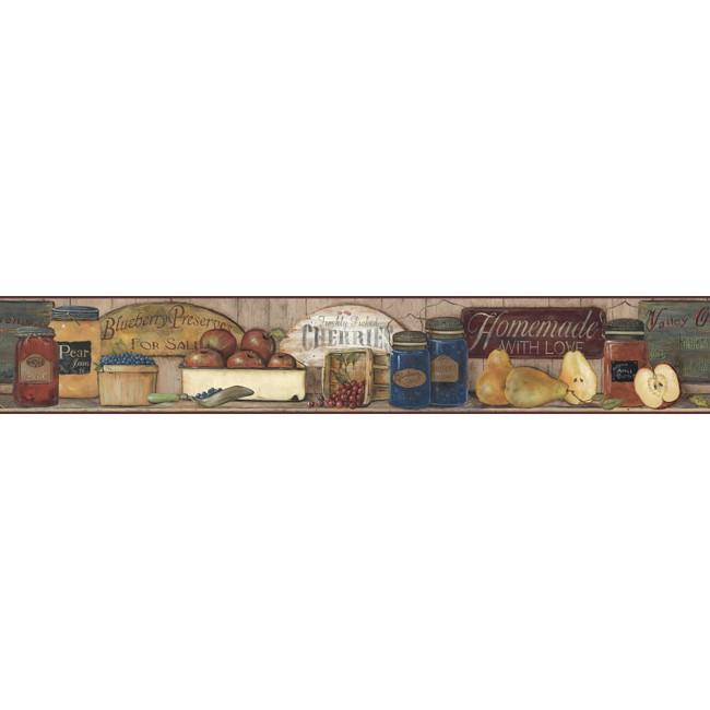 Американские обои York,  коллекция Hearts and Crafts III, артикулCB5514BD