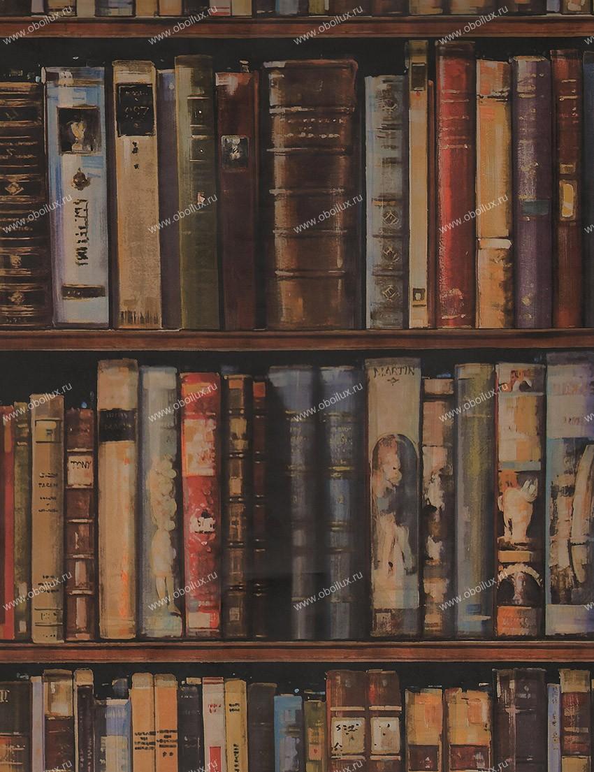 Английские обои Andrew Martin,  коллекция Navigator, артикулLibrarymulti