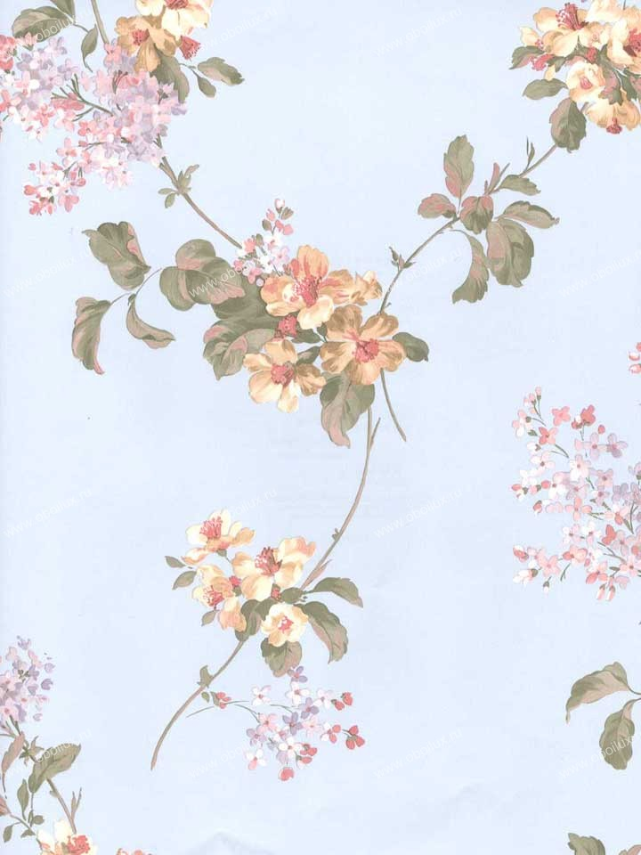 Американские обои Brewster,  коллекция Madison Florals, артикул282-64004