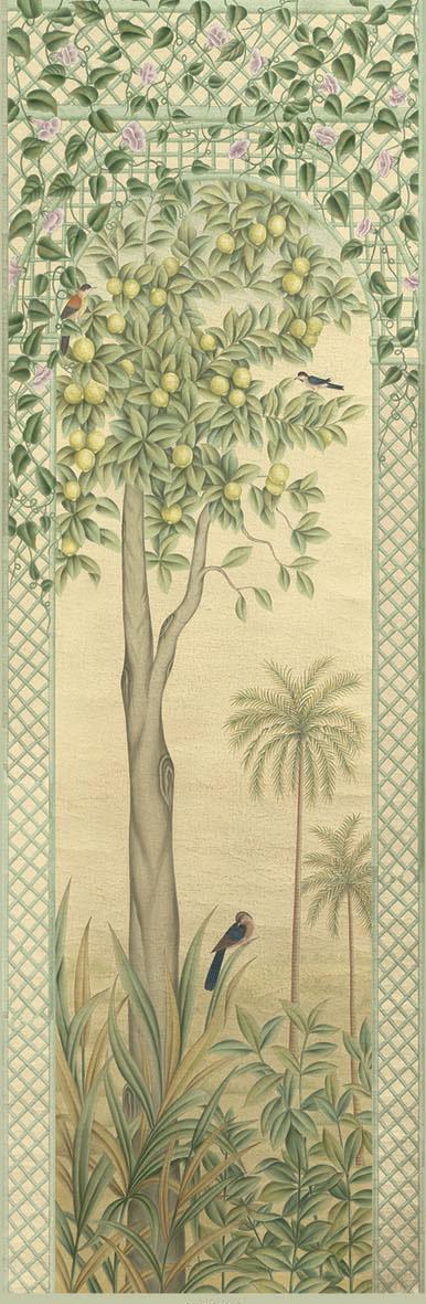 Английские обои Iksel,  коллекция Scenic & Architectural Wallpapers, артикулTreillisExoticaTRIS05