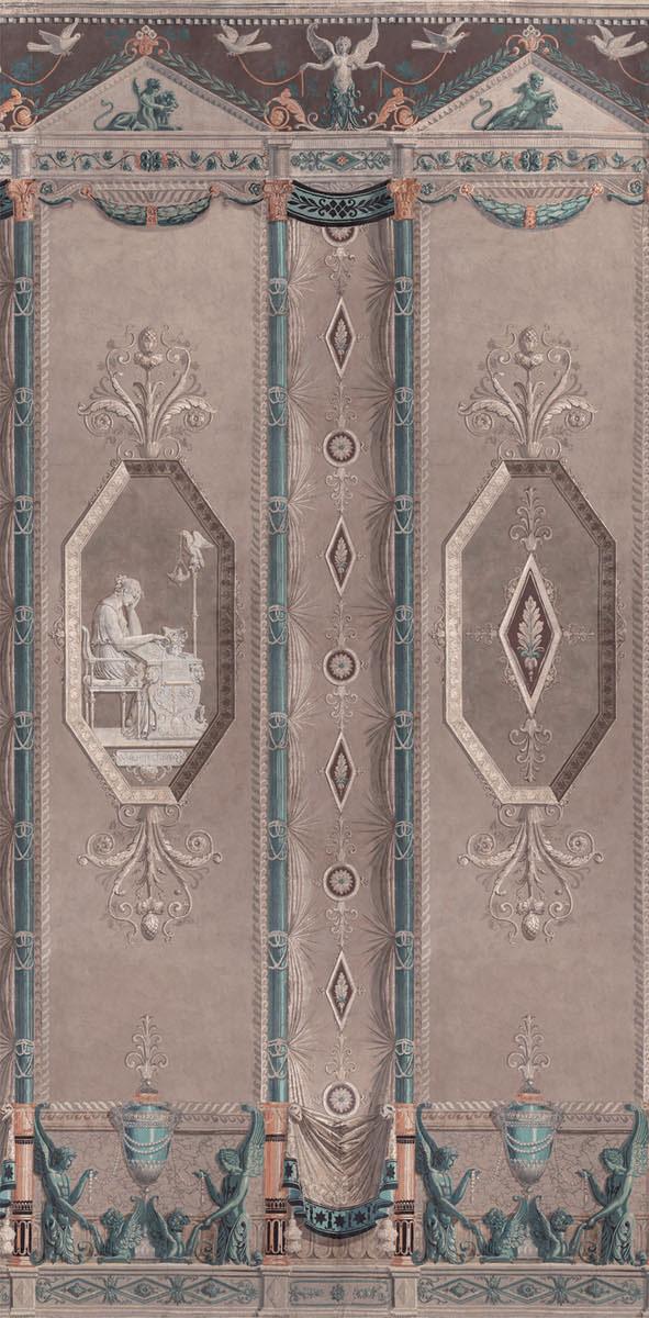 Английские обои Iksel,  коллекция Scenic & Architectural Wallpapers, артикулPercier&FontaineMuseEMPMUSB1