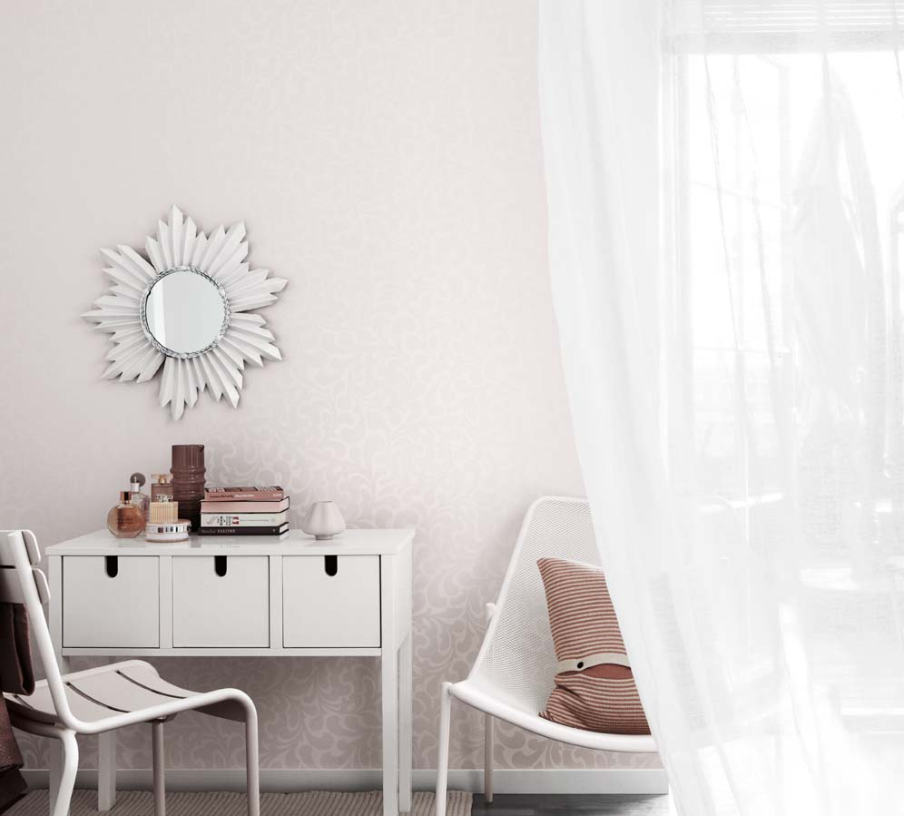 Шведские обои Eco,  коллекция Almost White, артикул3418