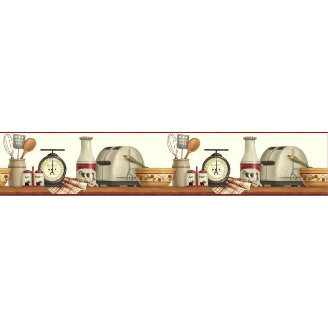 Американские обои Chesapeake,  коллекция Kitchen & Bath Essentials, артикулKBE12552B
