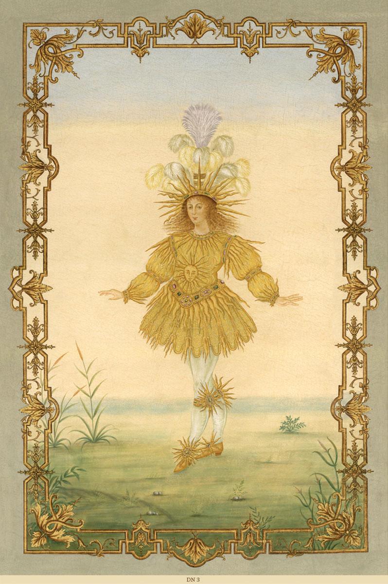 Английские обои Iksel,  коллекция Scenic & Architectural Wallpapers, артикулLouisXIVDancersDN3