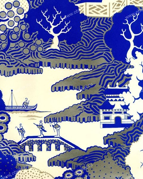Английские обои Osborne & Little,  коллекция Wallpaper Album V, артикулW5734-03