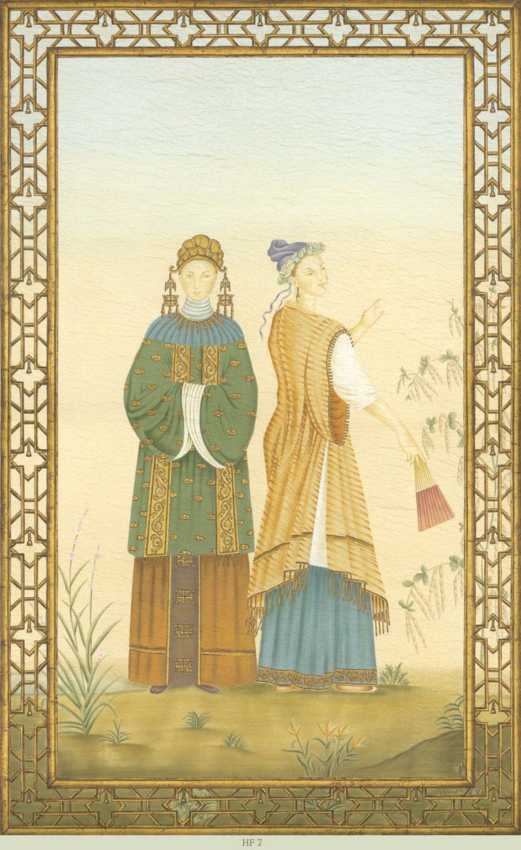 Английские обои Iksel,  коллекция Scenic & Architectural Wallpapers, артикулChineseFantasyHF7