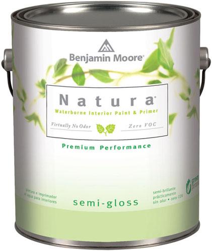 Natura 514 Waterborne Interior Paint - Semi-Gloss Finish