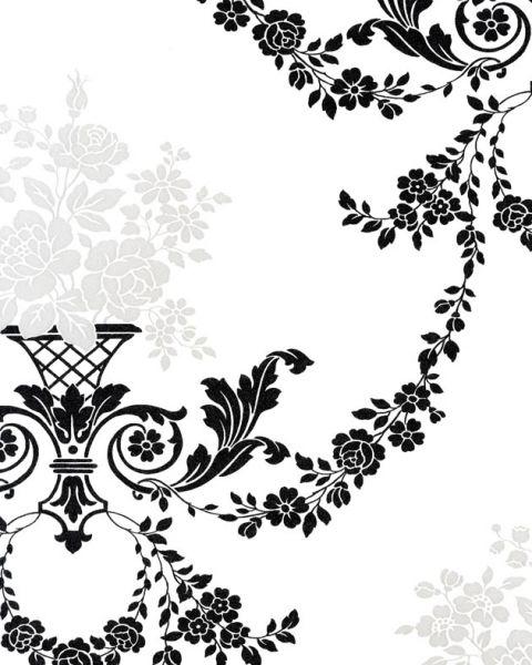 Французские обои Caselio,  коллекция Black & White, артикулBTW51809117